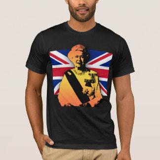 Awesome Pop Art Diamond Jubilee with Union Jack T-Shirt