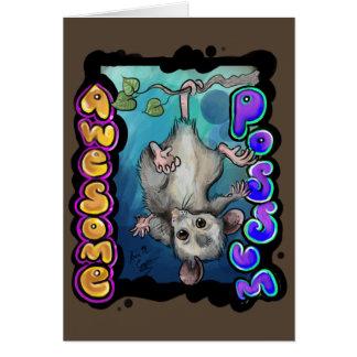 Awesome Possum! Card