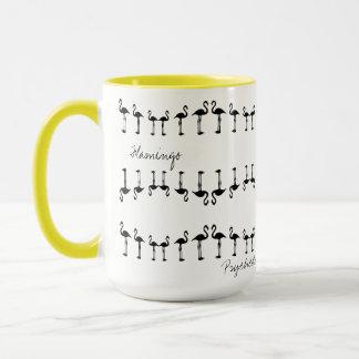 Awesome Psychedelic Flamingo Coffee / Tea Mug Cup