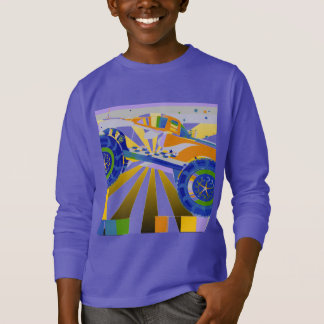 Awesome psychedelic Monster truck T-Shirt