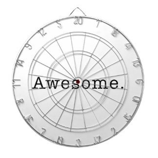 Awesome Quote Template Blank  black white Dartboard