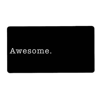 Awesome Quote Template Blank in Black and White