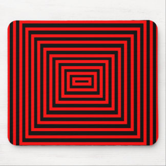 Awesome red and black design mouse pad