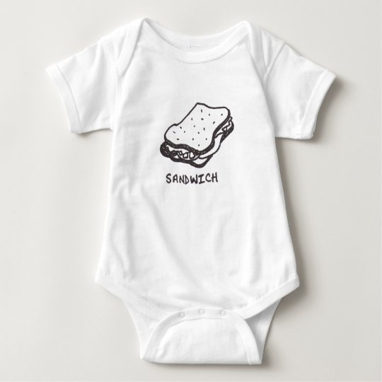 Awesome Sandwich Baby Bodysuit