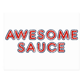 Awesome Sauce Postcards
