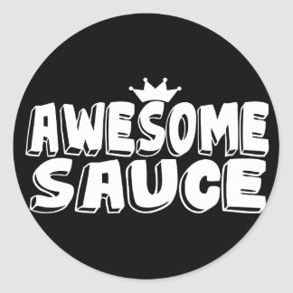 Awesome Sauce Round Sticker