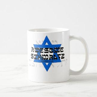 Awesome Schmaltz Basic White Mug