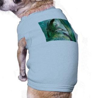 Awesome seadragon dog tee shirt