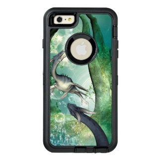 Awesome seadragon OtterBox defender iPhone case