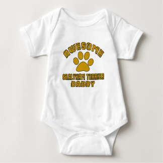 AWESOME SEALYHAM TERRIER DADDY BABY BODYSUIT