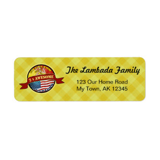 Awesome Sicilian American Address Labels