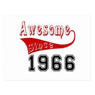 Awesome Since 1966 Postcard