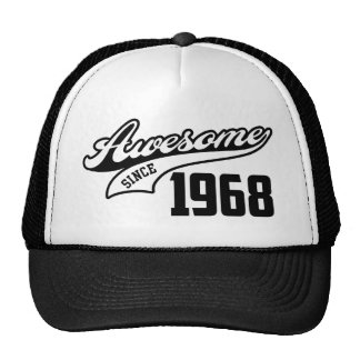 Awesome Since 1968 Trucker Hat