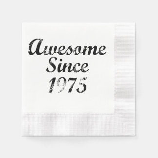 Awesome Since 1975 Paper Napkins
