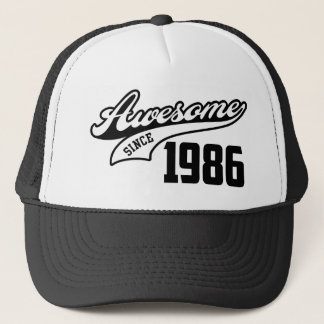 Awesome Since 1986 Trucker Hat