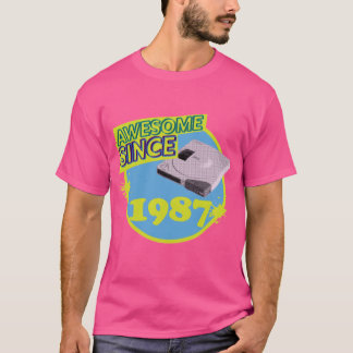 Awesome Since 1987 - Retro Discman T-Shirt