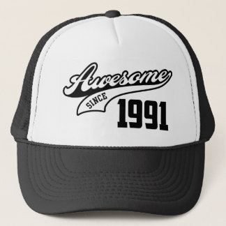 Awesome Since 1991 Trucker Hat