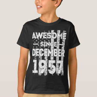 Awesome Since December 1957 T-Shirt