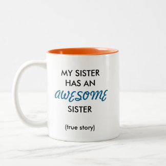 Awesome Sister Mug