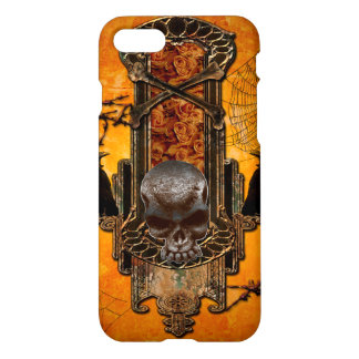Awesome skulls and crow iPhone 7 case
