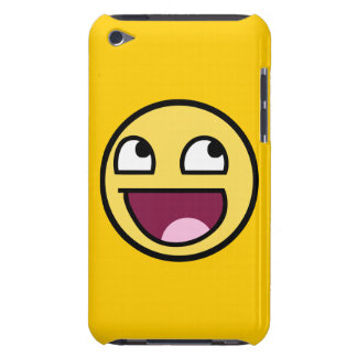 awesome smiley face rage f7u12 funny meme iPod Case-Mate case