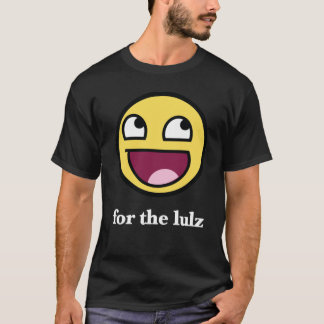 Awesome smiley for the lulz T-Shirt