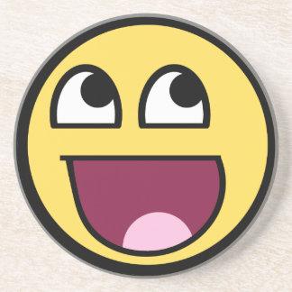 Awesome Smiley Internet Meme Coaster