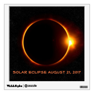 Awesome Solar Eclipse 2017 Square Decal