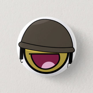 AWESOME SOLDIER 1 INCH ROUND BUTTON