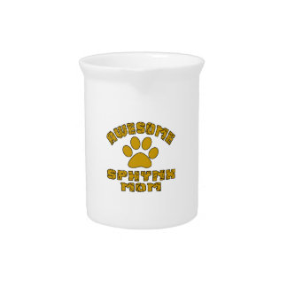AWESOME SPHYNX MOM BEVERAGE PITCHERS
