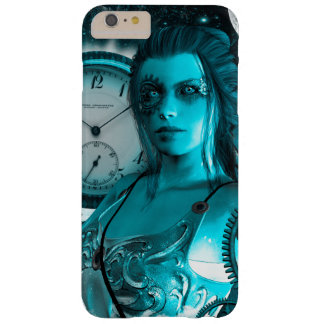 Awesome steampunk lady in the universe barely there iPhone 6 plus case