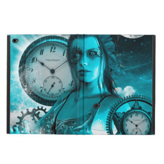 Awesome steampunk lady in the universe powis iPad air 2 case
