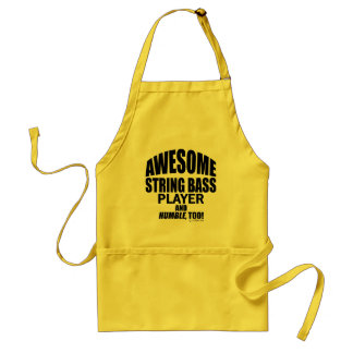 Awesome String Bass Player Aprons