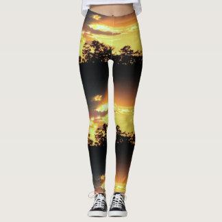 Awesome Sunset Leggings