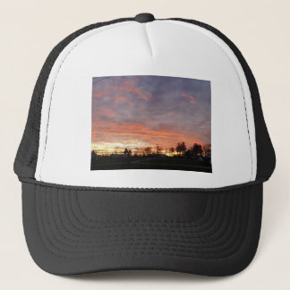 Awesome Sunset Trucker Hat
