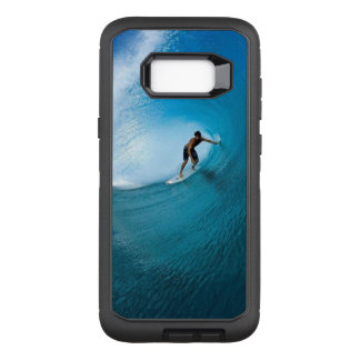 Awesome Surfer on Maverick Wave OtterBox Defender Samsung Galaxy S8+ Case