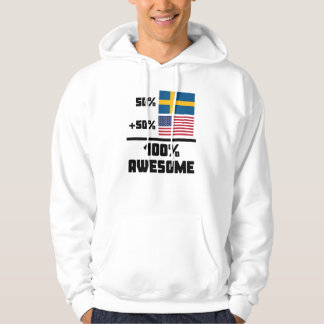 Awesome Swedish American Hoodie