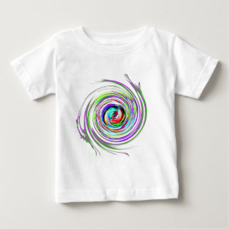 Awesome Swirl of colors Baby T-Shirt