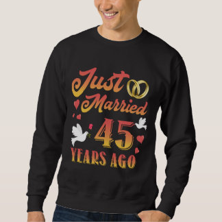 Awesome T-Shirt For 45th Anniversary.