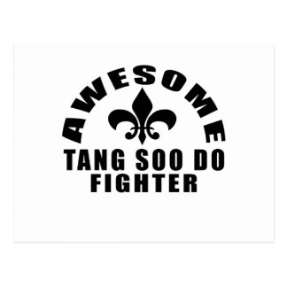 AWESOME TANG SOO DO FIGHTER POSTCARD