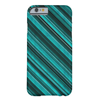 Awesome Teal Striped Phone Case