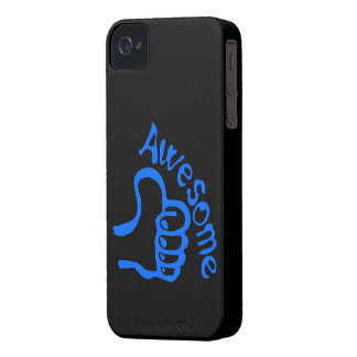 Awesome thumbs up blackberry phone case Case-Mate iPhone 4 case