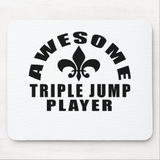 AWESOME TRIPLE JUMP PLAYER MOUSE PAD