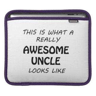 Awesome Uncle iPad Sleeve