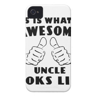 Awesome uncle iPhone 4 covers