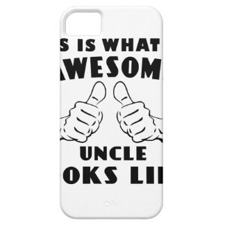 Awesome uncle iPhone 5 case