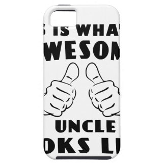 Awesome uncle iPhone 5 cover