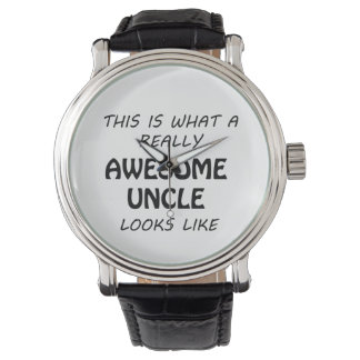Awesome Uncle Watch