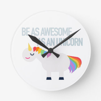 Awesome Unicorn clock