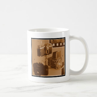 Awesome Vintage Cameras Collage Picture Image Coffee Mug
